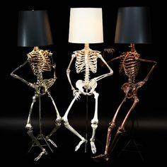 LifeSize Anatomical Skeleton Lamps