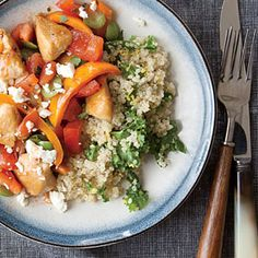 Lemony Kale Quinoa Recipe | MyRecipes.com