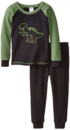 Gerber Baby and Little Boys' 2 Piece Thermal Pajamas * Additional info @