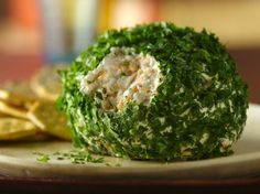 The Classic Cheese Ball....use a melon scoop and make small ones the day before for your Happy Hour...no worries about double dipping then!
