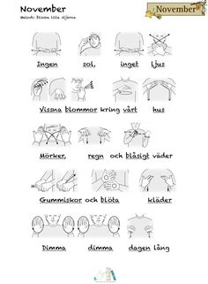 Sign Language, Preschool, Vit, Education, Learning, Musik, Communication, Kid Garden, Studying
