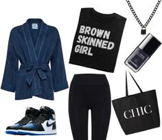 Brown Skin Girls, Nike Outfits, Chanel, Chic, Polyvore, Fashion, Shabby Chic, Moda, Elegant
