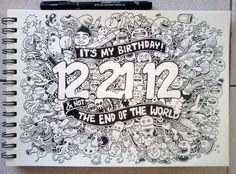 Birthday Apocalypse by kerbyrosanes.deviantart.com on @deviantART
