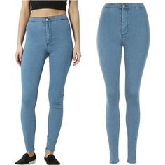 Women s High Waist Skinny Slim Denim Jeans Trouser Long Pencil Pant Stretchy on http://ali.pub/a8wki