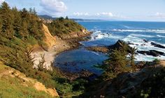The Cape Arago Beach Loop explores 3 state parks, the largest haul-out of seals and sea lions on the Oregon Coast as well as breathtaking vantage points. The drive itself does not take long, but save some time to soak in the natural beauty.
