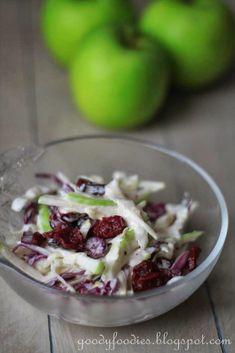 GoodyFoodies: Recipe: Apple slaw (Vegetarian)