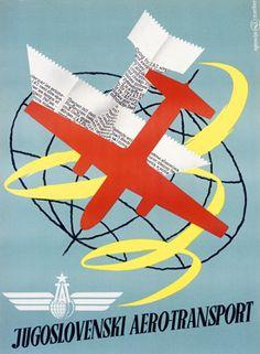 jat airlines: aero - slavija