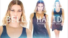 A Fashion presents to you, Bella Hadid, spring/summer Video edited by Anna Davidsson, October Video credits: Michael Kors Mugler Off White Etro R. Bella Hadid, Video Editing, Supermodels, Athletic Tank Tops, Spring Summer, Michael Kors, Sexy, Youtube, Beauty