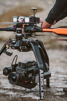 Intuitive Aerial's Heavy-Lift Aerigon Drone System with Phantom Flex4K Camera