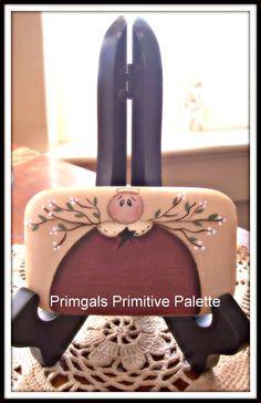 Primitive Angel Soap  Design by Marie Provost