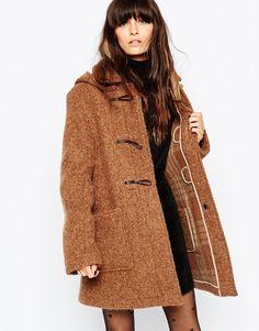 Gloverall Textured Duffle Coat