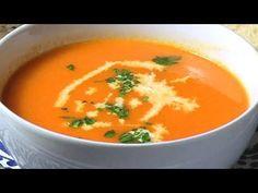 How to Make Garden Fresh Tomato Soup - YouTube