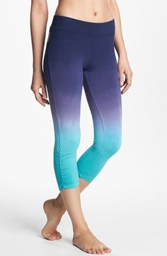 Soul, Mind, Breath, Life Ombré Capri Leggings available at #Nordstrom