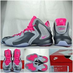 For Sale Nike Lil Penny Posite Wolf Grey Wolf Grey Hyper Pink 63