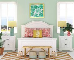 89 Best Tropical & Palm Decor Ideas images in 2019   Coastal homes Palm Beach Bedroom Decorating Tips Html on