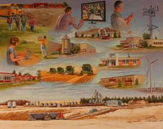 The - Painting Canadian Prairies, Western Canada, A Decade, 2000s, History, Creative Art, Painting, Image, Creative Artwork