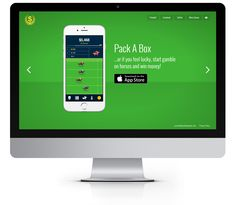 Website design, mobile game for iPhone, iPad & iPod