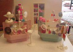 "Barbie Display Shelves   Orig Vtg Barbie ""Dream Store Deluxe"" with ...   Barbie Stores, Restau ..."