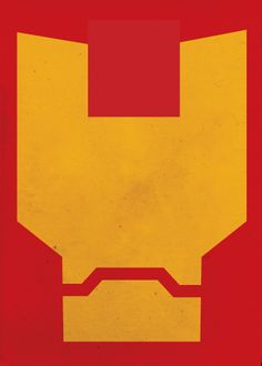 Minimal Superheroes by Barletta , Iron Man