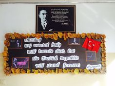 For the memory of Atatürk