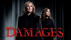 """""""Damages"""" TV Show on FX Network (2007 - 2010) and Audience Network (2011 - Present) --- Emmy winner Glenn Close is riveting as lawyer extraordinaire Patty Hewes, whose intellect is as boundless as her morals are skimpy. With her devoted colleague, Tom Shayes (Tate Donovan), and her conflicted protégé, Ellen Parsons (Rose Byrne), Patty rules the New York legal scene."""