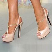Graceful Starfish Satin Dress Sandals