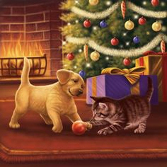 Colin Howard - Christmas playtime.jpg