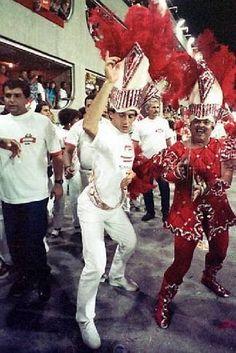Ayrton Senna at Carnival, (1992)