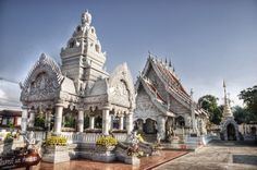 The Silver Temple, Nan, Thailand. - CAN'T WAIT!