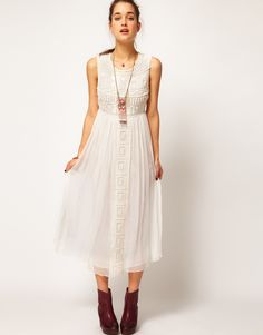 pretty asos chiffon dress