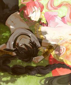 Kougyoku x Judal | Magi #anime