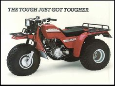 """Remember these? Vintage A wonder we didn't get killed. Preferred transportation mode in """"The Truth That Lies Between"""" Third Wheel, Atv, Transportation, Childhood, Vintage, Atvs, Infancy, Dirtbikes, Vintage Comics"""