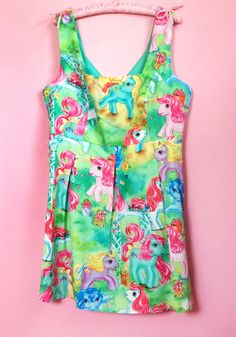 Iron Fist x Hot Topic MLP dress My Little Pony Clothes, Summer Loving, Iron Fist, Clothes Horse, Go Shopping, Summer Wear, Hot Topic, Mlp, Put On