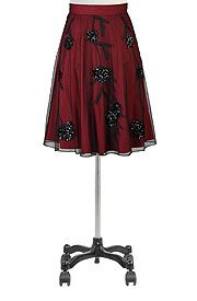 Floral pailette mesh skirt Get Super Saving discounts at eShakti with Coupon and Promo Codes.