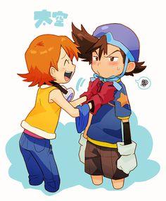 Digimon Tai Sora Taiora