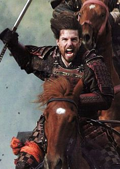 "Tom Cruise as Nathan Algren in ""The Last Samurai"""