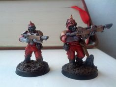 Two Blood Pact WIP models.