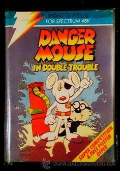 Juego Spectrum 48k / 128k Cinta - Danger Mouse in Double Trouble (1984)