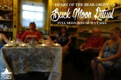 Witchy Words: Heart of the Bear Grove Buck Moon Ritual July 2016