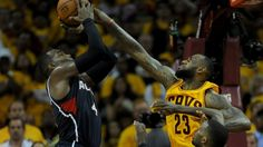 LeBron James was exhausted and banged-up, but he came through in the clutch as the Cleveland Cavaliers earned a thrilling overtime win over the Atlanta Hawks to take a strangle hold of the Eastern Conference finals. Antonio Davis, Matthew Dellavedova, Eastern Conference Finals, Atlanta Hawks, Latest World News, Lebron James, Cavalier, Espn, Cleveland