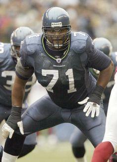 Walter Jones - destined for the HoF :) Nfl Seattle, Seattle Seahawks, Seahawks Football, Football Helmets, Walter Jones, Hometown Heroes, Sports Fanatics, Sport Of Kings, Football Program