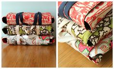 More Casserole Carriers - Taylor Made . .  I REALLY need to try making these! Beats paying over $40 from a catalog