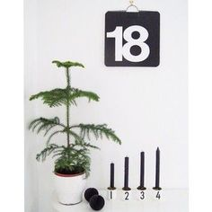 Christmas decoration featuring Design Letters Espresso cups. The perfect Advent Decoration.