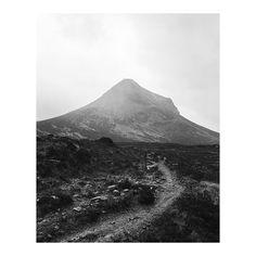 In the shadow of Marsco, wandering around Glen Sligachan on a rainy morning.