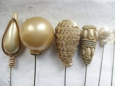 Wonderful collection Antique and Vintage Hat pins by BAYTREEGIFTS, $37.00