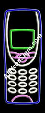"Neon Sign - CELLULAR LOGO-10316-3168  13"" Wide x 32"" Tall x 3"" Deep  110 volt U.L. 2161 transformers  Cool, Quiet, Energy Efficient  Hardware & chain are included  6' Power cord  For indoor use only  1 Year Warranty/electrical components  1 Year Warranty/standard transformers."