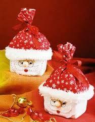 Recycling for Christmas Christmas Home, Christmas Holidays, Christmas Crafts, Xmas, Christmas Ornaments, Merry Christmas, Disney Christmas Decorations, Holiday Decor, Santa Crafts