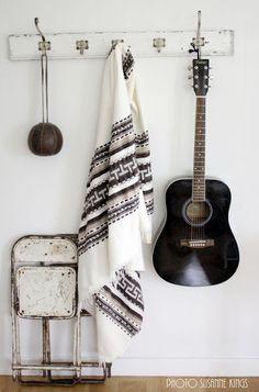Bohemian home kilim guitar boho style