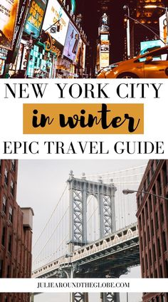 The most magical places to visit this winter in New York City! From cozy places to keep warm, to snowy dreamy cityscapes and exciting events. Discover the best places to visit this winter in New York City, where to eat in New York, useful travel tips for visiting New York in winter | Best things to do in New York in winter | Winter weekend getaway in NYC | NYC travel guide | What to do in New York in Winter Usa Travel Guide, Travel Usa, Travel Tips, Packing List For Vacation, Vacation Trips, New York Winter, Road Trip With Kids, Top Travel Destinations, New York Travel