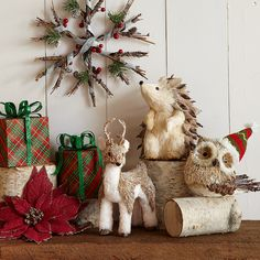 woodland wonderland christmas decor